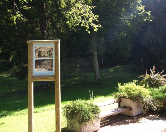Aulus les Bains vu du Col de Latrappe
