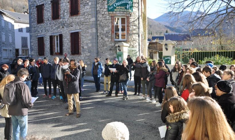 Journée mémorielle dans le cadre du futur espace muséal et d'un projet pédagogique couvrant la période 1942/1943 à Aulus les Bains