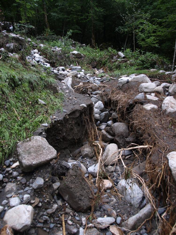 Crue du 2 juin 2017 à Aulus les Bains