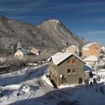 La neige est arrivée à Aulus